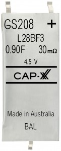 Alternatives to Batteries - CapXX SuperCap