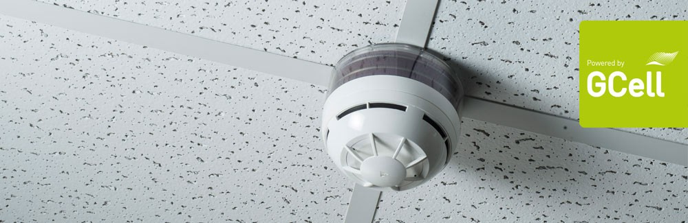 Solar Powered smoke alarm